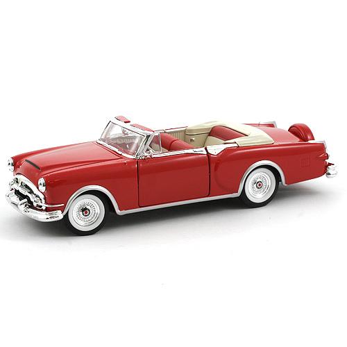 Automobil 1:24, Welly Packard 53 Caribbean červený