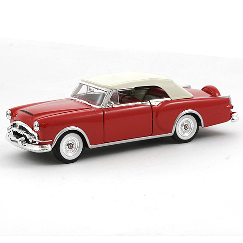 Automobil 1:24, Welly Packard 53 Caribbean II červený