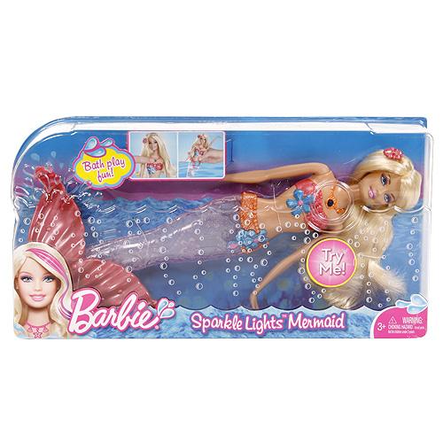 Svietiaca morská panna Barbie Hasbro ružová