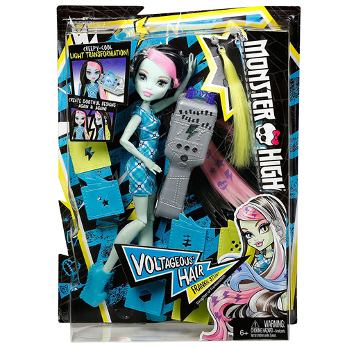 Bábika Monster High Mattel Elektrizujúca Frankie Stein
