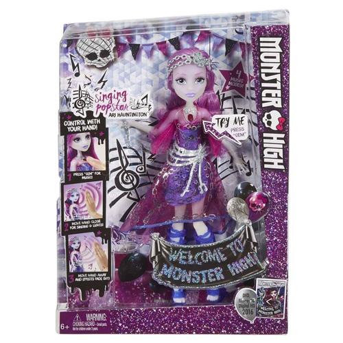 Bábika Monster High Mattel spievajúca Ari Hauntington